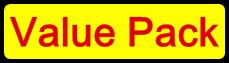 Canon PGI-525/CLI-526 Value Pack Compatible Cartridge